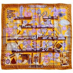 Hermes Les Trophées Silk Scarf 90cm by Pierre Marie 2013 La Maison Des Carres