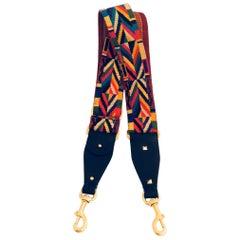 Valentino Garavani Colorful Embroidered Strap Native Couture 1975