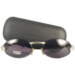 New Vintage Gianfranco Ferre Oval 1990's Made in Italy Sunglasses