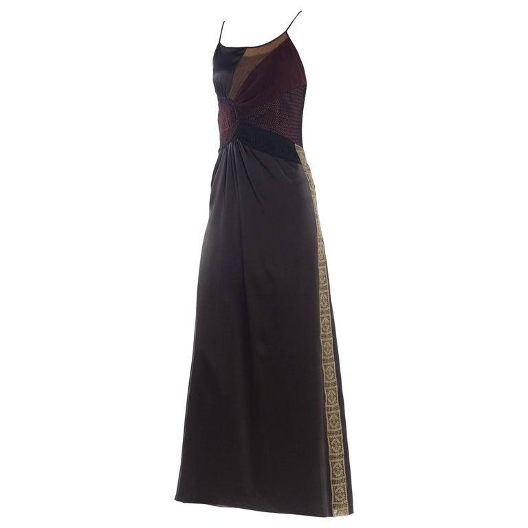 Jean Paul Gaultier Logo Lace Dress, 1990s