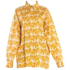 Gianni Versace Versus Leopard Print Shirt