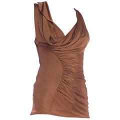 Slinky Jersey Mini Dress Top