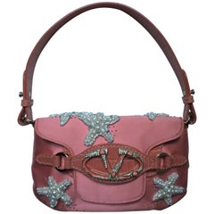 Valentino  Haute Couture Silk and leather Evening Handbag