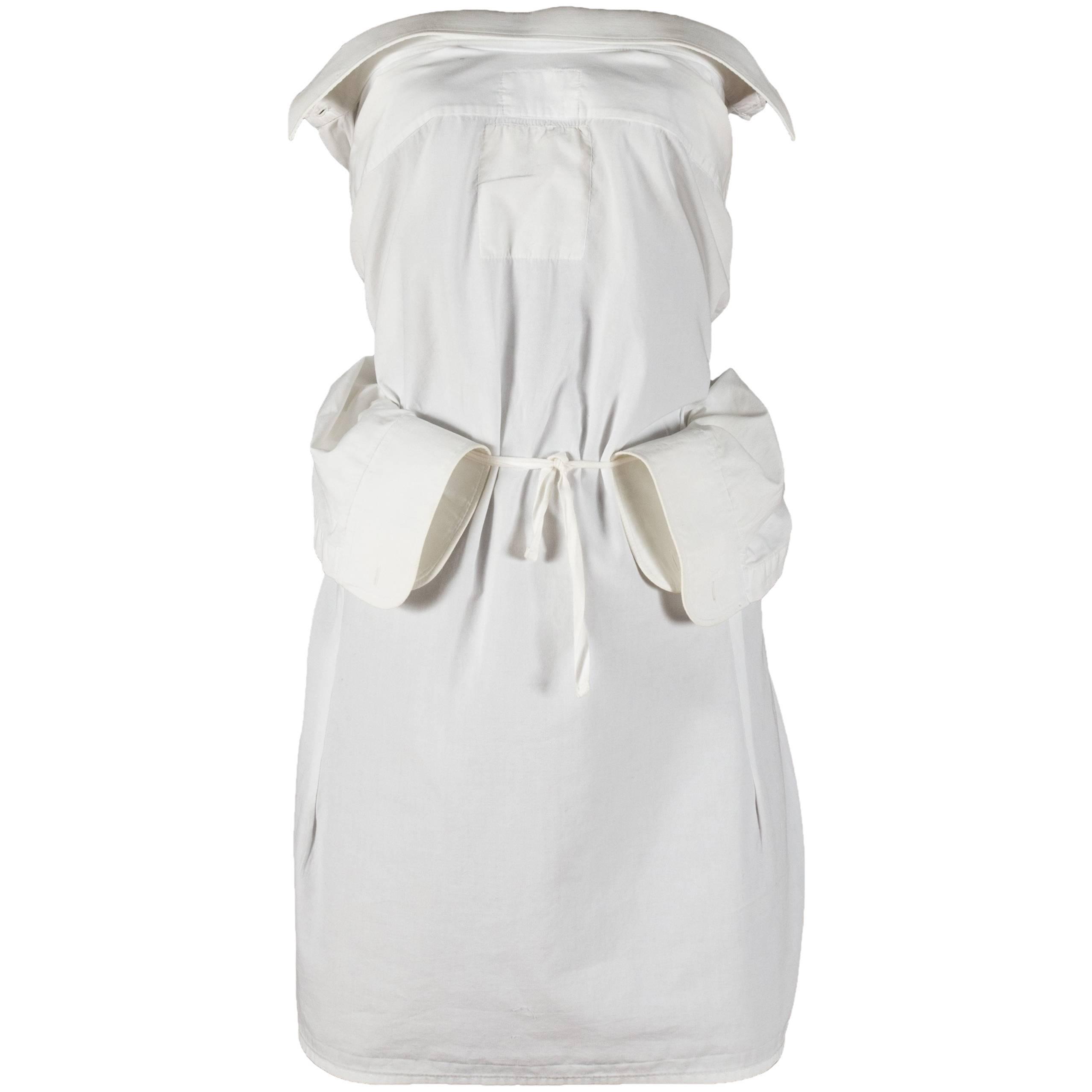 Margiela Artisanal white shirt, Spring-Summer 1995
