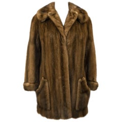 1970s Mink Swing Jacket