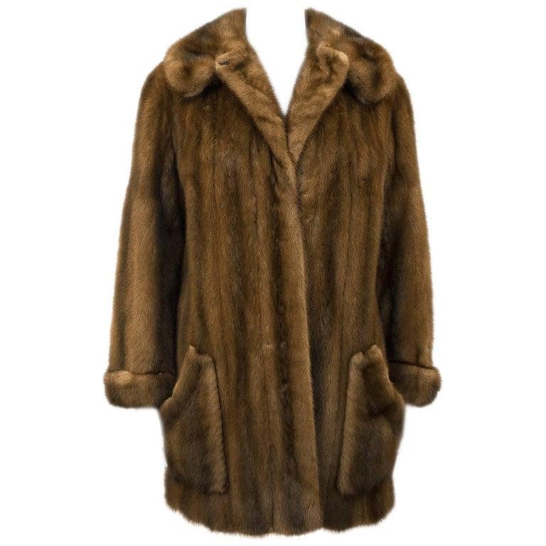1970s Mink Swing Jacket