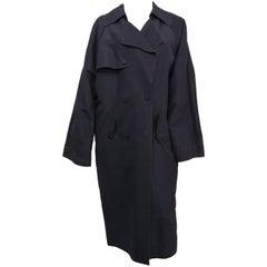2009 Lanvin Oversized Nylon Trenchcoat