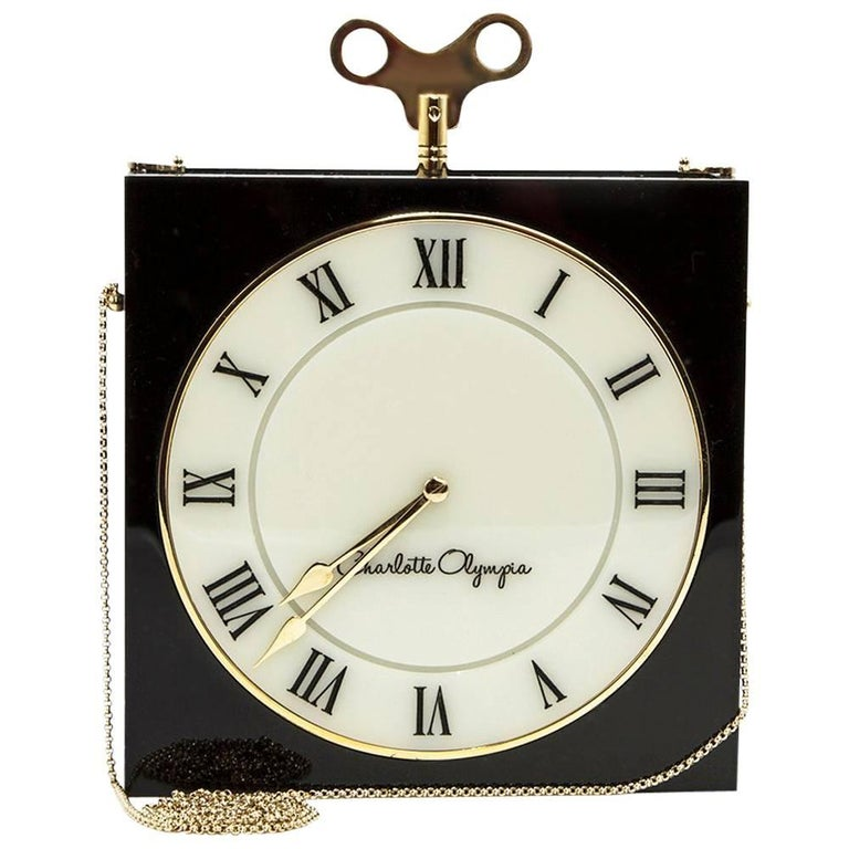 Charlotte Olympia The Timepiece Clutch Bag