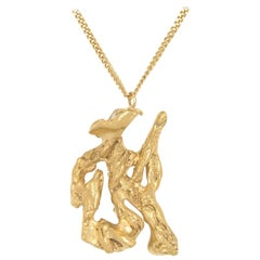 Loveness Lee Chinese Zodiac Snake Horoscope Gold Pendant Necklace
