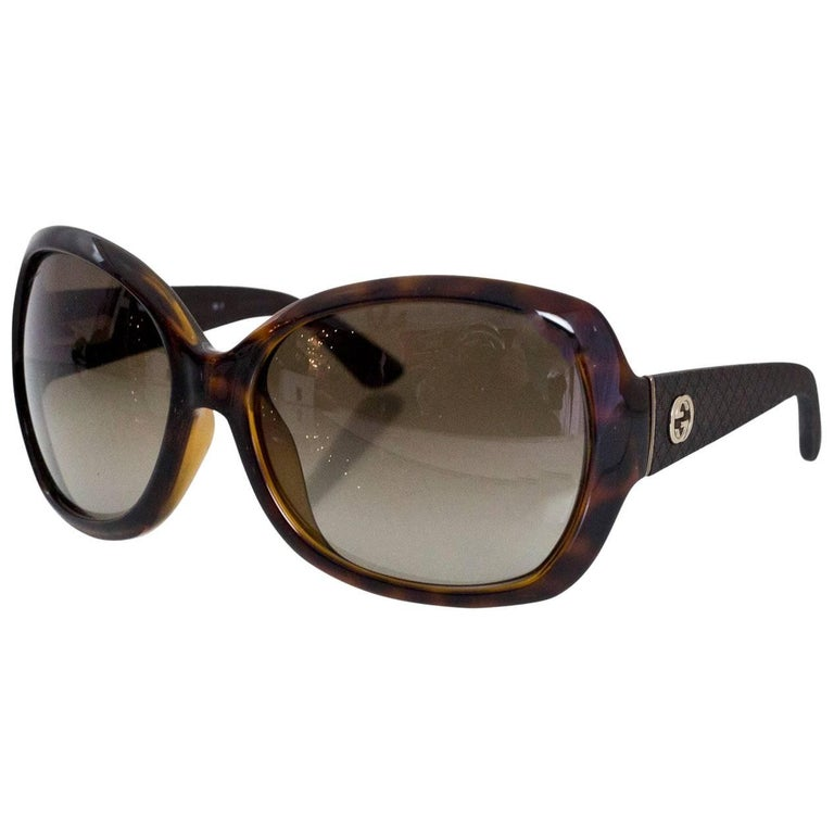 1739fc25ee37c Gucci Glasses Case Brown