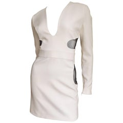Tom Ford New Plunge Dress With Cutout Waist & Hips