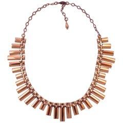 Renoir Copper Link Chain Necklace