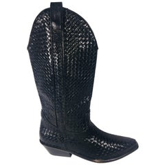 Cole Haan Woven Cowboy Boots