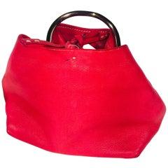 Prada Small Nappa Ring Mini Handle Bag