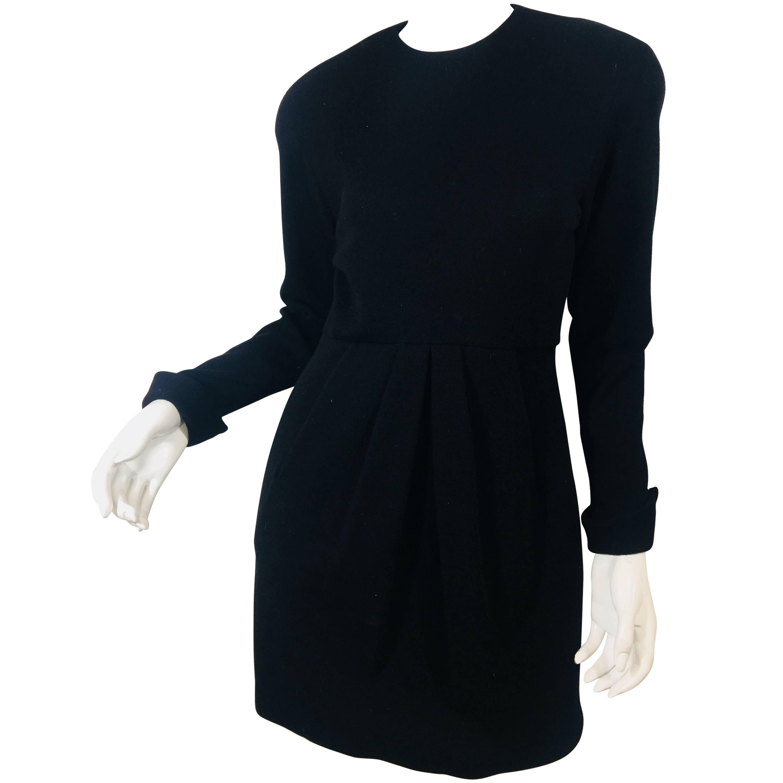 Blass Dress by Bill Blass Wool Dress