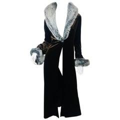 Betsey Johnson Coat with Fur Trim