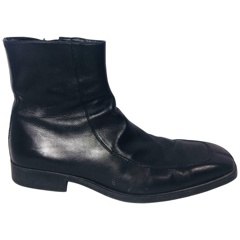 Men's Gucci Leather Ankle Boot