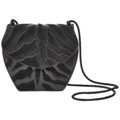 Yves Saint Laurent Leather and Suede Bag