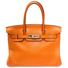 Hermes Birkin - 30 - Orange - Togo / Chevre