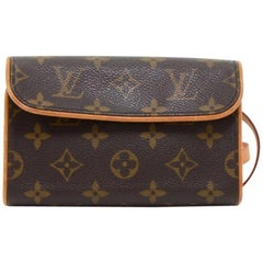 Louis Vuitton Pochette Florentine Monogram Canvas Waist Bag