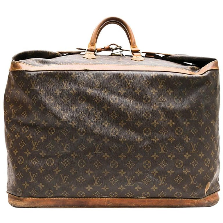 LOUIS VUITTON  Vintage Weekend Travel Bag in Brown Monogram Canvas