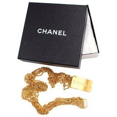 Chanel Gold Chain Belt