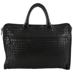 Bottega Veneta Soft Slim Briefcase Intrecciato Nappa