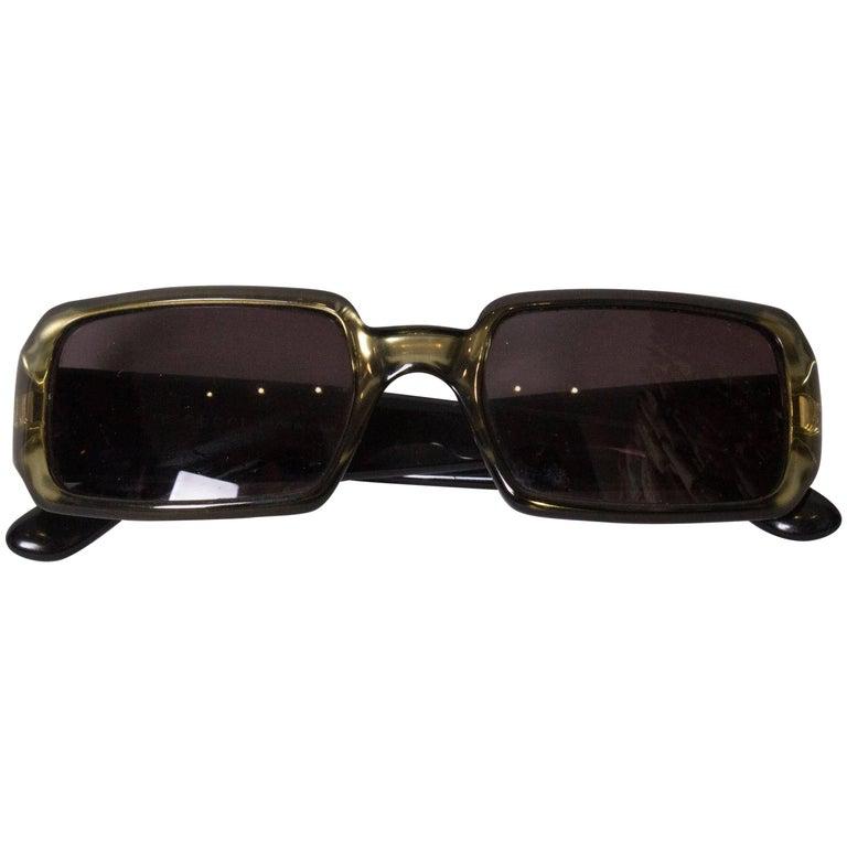 Gucci Olive Sunglasses