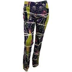 Moschino Splatter Print Jeans