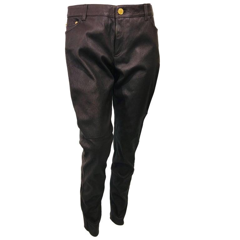 Michael Michael Kors Leather Pants