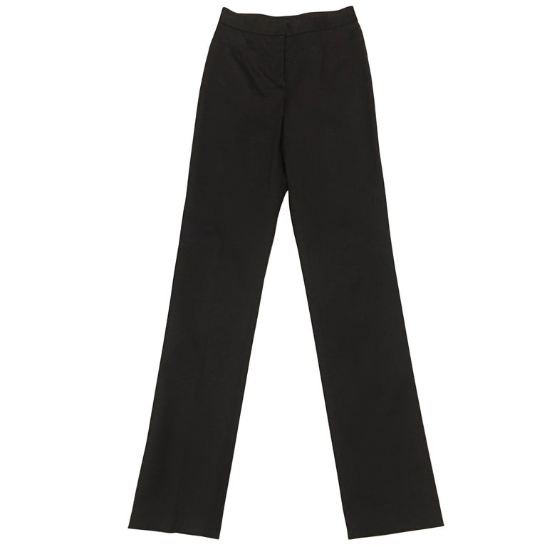 Dolce & Gabbana Black Slim Fit Pants