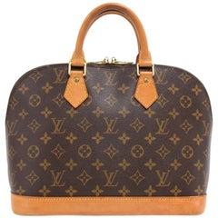 Vintage Louis Vuitton Alma Monogram Canvas Hand Bag