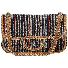 Chanel Dark Blue St. Tropez Flap Bag