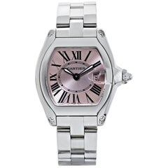 Cartier Stainless Steel 36mm Roadster Quartz Watch with Box and Case