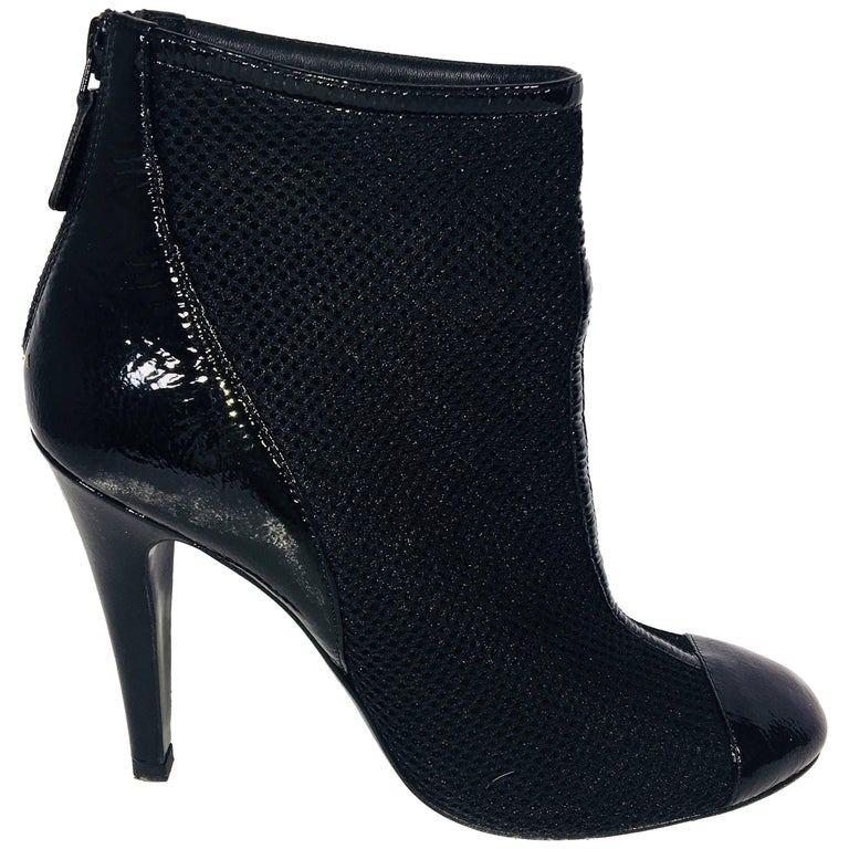 Chanel Round Toe Bootie For Sale