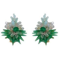 Rousselet Poured Glass Earrings