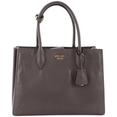 Prada Soft Bibliotheque Handbag City Calfskin Medium
