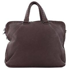 Bottega Veneta Convertible Briefcase Leather with Intrecciato Detail