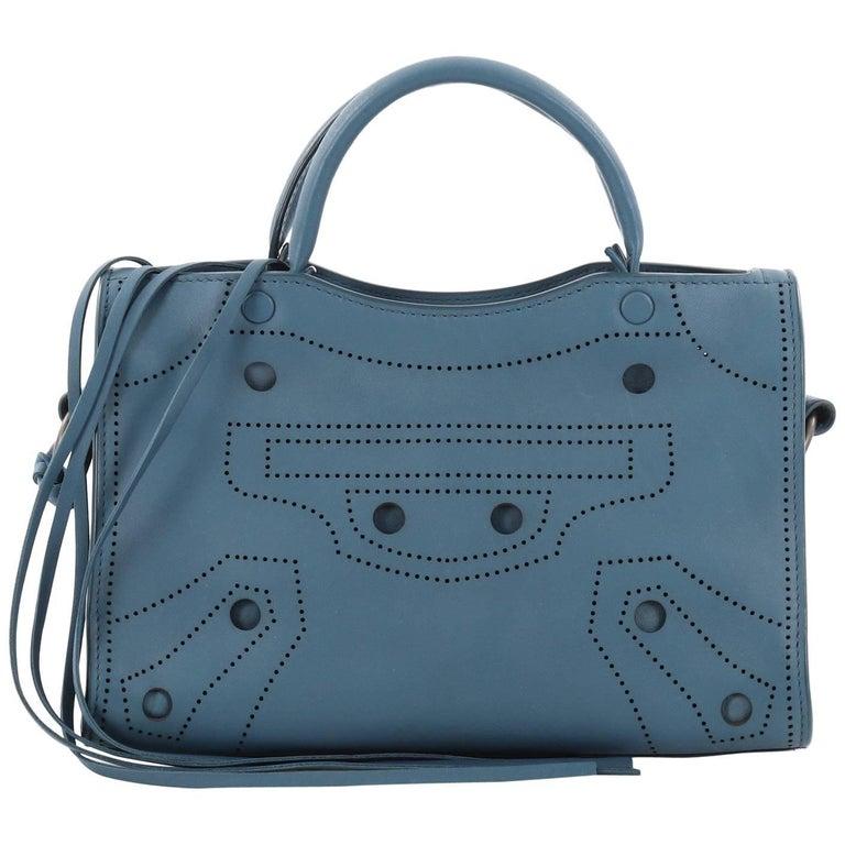 5d2ecb7386c Balenciaga Blackout City AJ Handbag Leather Mini at 1stdibs