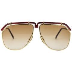 1980's  Ted Lapidus Sunglasses 3106