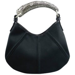 Yves Saint Laurent YSL by Tom Ford Black Small Mombasa Bag