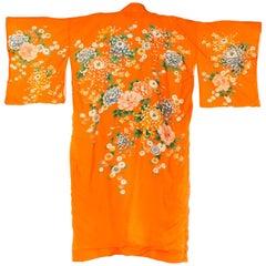 1930 silk Japanese Kimono