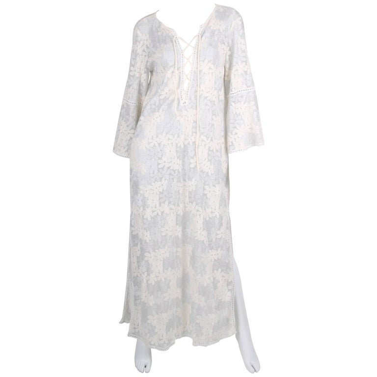 Raffaela d´Angelo Tunic Beach Dress - white/silve