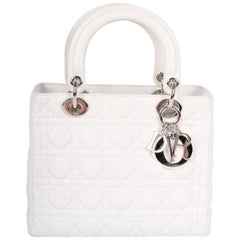 My Lady Dior Bag 24 - white