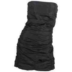 MIU MIU Strapless Dress - black   MIU MIU Strapless Dress - black MIU MIU Stra