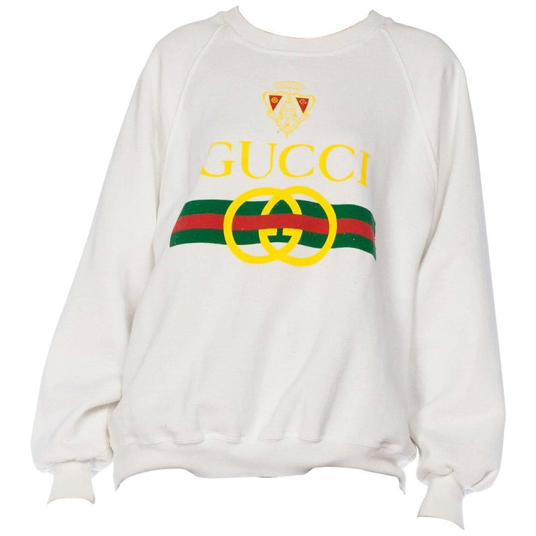 0725d655 HomeFashionClothingShirts. Gucci Bootleg 1980s Sweatshirt For Sale
