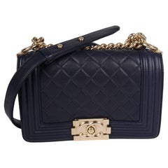 Chanel Boy Bag Mini - blue