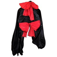 Christian Dior Vintage oversized  evening shawl wrap with large bows