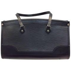 Louis Vuitton Black Madeleine Leather Handbag