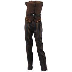 Jean Paul Gaultier Femme two-piece Wool Suit
